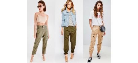 Брюки-карго женские: с чем носить, модные образы